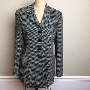 Max Mara patterned longer length jacket